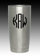 YETI Rambler 20 oz cup tumbler engraved  design your choice coffee cold drink