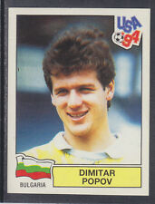Panini - USA 94 World Cup - # 285 Dimitar Popov - Bulgaria (Green Back)