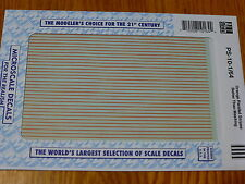 """Microscale Decal #PS-10-1/64 Parallel Stripes 1/64"""" Wide Orange"""