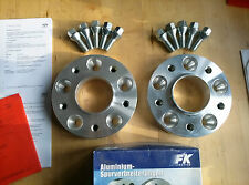 FK 30/60mm 5x120 Spurplatten Spurverbreiterung BMW 3er E36 E46 M3 Z3 Z4 Z8