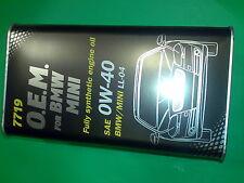 4l MANNOL 0w-40 olio motore 7719 OPEL gm-ll-a-025 gm-ll-b-025 FORD wss-m2c937-a