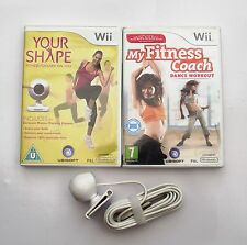 YOUR SHAPE AND CAMERA AND MY FITNESS COACH DANCE WORKOUT WII PAL