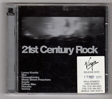(GZ135) Various Artists, 21st Century Rock - 1999 Double CD