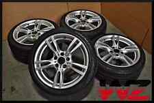"Complete Set of Four 12-14 18"" BMW F30 3 Series ActiveHybrid Wheels Tires! OEM"