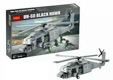 DECOOL2114 FITS LEGO MILITARY SERIES UH-60 BLACK HAWK HELICOPTER PLANE MODEL TOY