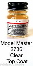 Model Master 2736 Clear Top Coat 1/2 oz Enamel Paint Bottle