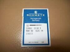 Needles for Singer 320K 206X13 Size 14/90 1 Pack, 10 Needles.