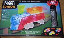 Trains Laser Pegs Junion Lighted Construction Building Set Toy ZD007 Ages 4-7