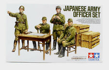 TAMIYA WWII Japanese Army Officer Figure Set Model Kit 1/35 Scale