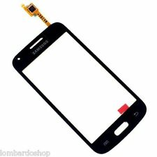 TOUCH SCREEN E VETRO PER SAMSUNG GALAXY CORE PLUS NERO SM G350 G3500+BIADESIVO