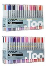DHL Ship- New Copic Ciao 72 Set A+B (72A+72B) Premium Artist Markers Anime Comic