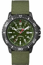 Timex T49944, Men's Expedition Uplander Green Fabric Watch, Date, T499449J