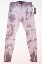 JOE's JEANS The LEGGING Camo DENIM Side Seam ANKLE Zip JEGGINGS Tie Dye M