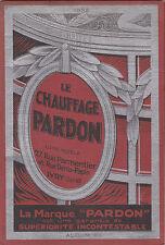 Catalogue Chauffages-Pardon -1932- Poêles, Fourneaux, Réchauds, Cuisinières...