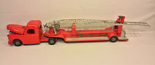 Vintage Structo Fire Hook & Ladder Truck with Intact Engine Compartment