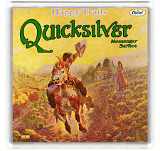 QUICKSILVER MESSENGER SERVICE - HAPPY TRAILS LP COVER FRIDGE MAGNET IMAN NEVERA
