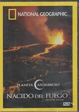 DVD - Nacido Del Fuego NEW National Geographic FAST SHIPPING!