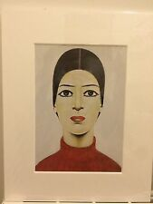 L.S Lowry Print In Mount