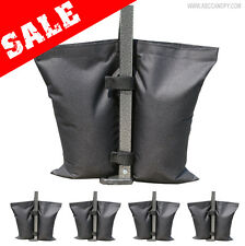 4PCS Weight bag Sand bag Foot weights for EZ pop up gazebo canopy marquee tents