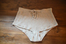 TOAST SHORTS KNICKERS RIBBED SLEEPWEAR GREY NEW BRIEFS