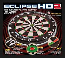 Unicorn NEW ECLIPSE HD2 DARTBOARD PDC Approved - 2016 - Darts Flights in Store!