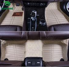 HOT PRODUCT  3D car floor mat for Audi A4L car foot pad 4colors Left hand driver