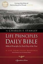 Charles F. Stanley Life Principles Daily Bible, NASB by Thomas Nelson...