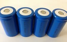 NEW 4 X NICD 2800MAH D CELL RECHARGEABLE BATTERIES CELLS UNTAGGED BULK LOT
