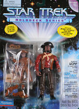 "Star Trek Sheriff Worf ""Holodeck Series"" Playmates 4.5"" Action Figure"