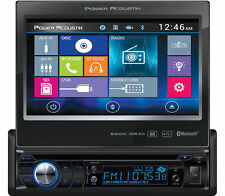 "POWER ACOUSTIK PD-724HB 7"" LCD MOBILELINK SINGLE DIN BLUETOOTH STEREO DVD PLAYER"