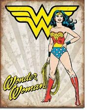 Wonder Woman Heroic Tin Sign Metal Poster retro vintage bar wall decor art 2085