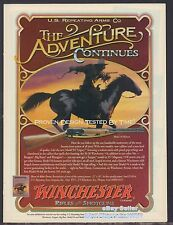 1995 WINCHESTER Model 94 Legacy Rifle AD The Adventure Continues