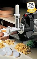 Torchio per Pasta n°5 Elettrico HP.1,50 1200W 9060N con12 Trafile nylon ® REBER