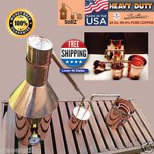 Copper Moonshine Still- Thumper/Worm-Heavy 20oz Build Compare! StillZ 6 Gallon