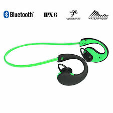 Urbanz Extreme Bluetooth Sport Headphones Wireless  Waterproof Running - Green