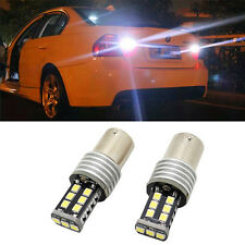 2x P21W BA15S LED Canbus no error backup reverse light lamp For BMW E30 E36 E46