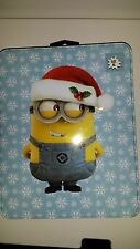 Primark Mens Despicable Me Minions Christmas T shirt in a Tin  New XL