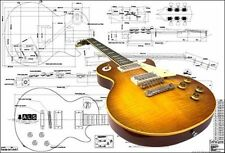 Gibson '59 Les Paul® Electric Guitar Plan