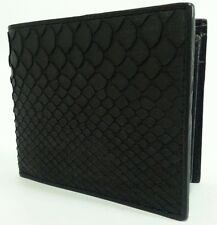 Genuine Python Snake Skin Real Leather Men Wallet Bifold ID Card Coin Pocket Bag