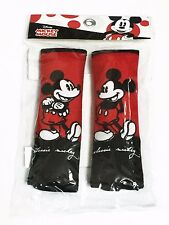 Mickey Mouse Car Accessory #1: 2 pieces Seat Belt Sholder Pads Covers