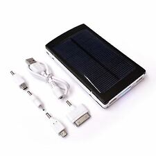 10000mAh Portable Battery Solar Charger 2A + 1A Output for Mobile Phones