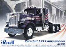 Revell Monogram Peterbilt 359 Conventional Tractor cab & Chassis model 1/25