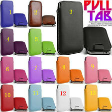 Pellicola+Custodia LEATHER POUCH per Samsung I9500 i9300 S4 3 Galaxy COVER I9301
