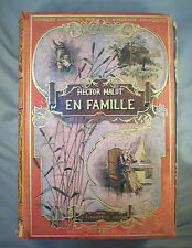 HECTOR MALOT / EN FAMILLE / ILLUSTRATIONS DE LANOS / FLAMMARION