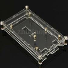 Clear Acrylic Box Enclosure Gloss Transparent Case for Arduino Mega 2560 R3 BG