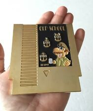 NINTENDO NES MARIO USN NAVY CPO CHIEF VIDEO GAME CARTRIDGE CHALLENGE COIN POLICE