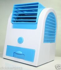 New Portable Air Conditioning Cooler Mini Cooling Turbine Fan With USB Cable-Bl