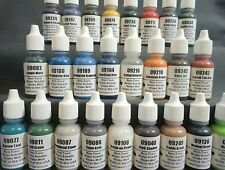 Reaper Acrylic Paint Set - 25 Earth, Nature & Stone Tones -
