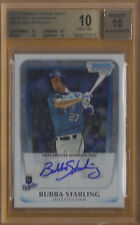 2011 Bowman Chrome Bubba Starling Autograph Rookie Card BGS 10 w/10 AUTO!