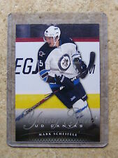 11-12 UD Serie 1 RC Rookie YG Young Guns Canvas MARK SCHEIFELE #C119